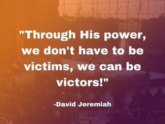 David Jeremiah Devotional 3 October 2019