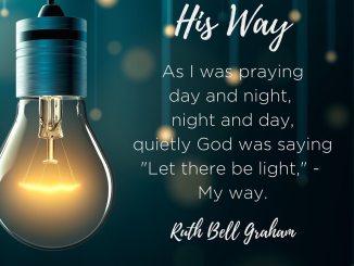 Billy Graham Devotional 23rd January 2020