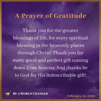 David Jeremiah Devotional 14 February 2020