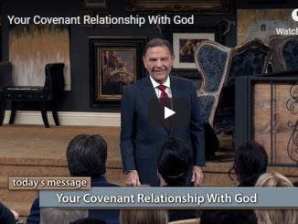 Kenneth Copeland sermon - relationship with God