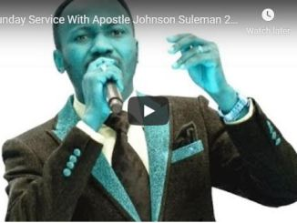 Apostle Johnson Suleman Live Sunday Service 22 March 2020