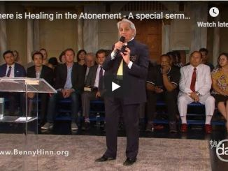 Benny Hinn sermon - Healing in Atonement
