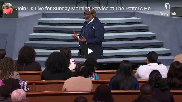 Bishop TD Jakes Sunday Live Service March 22 2020