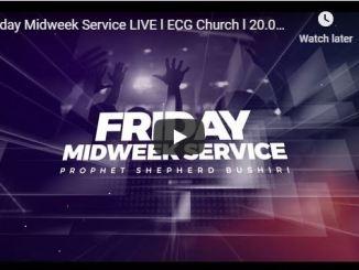 ECG Church Friday Service - Shepherd Bushiri