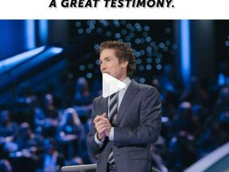 """Message: Joel Osteen - """"Without Test, You Won't Have A Testimony"""""""