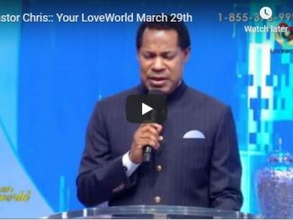 Pastor Chris Live Your Love World Sunday 29 March