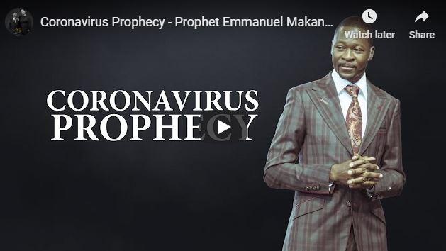 Prophet Emmanuel Makandiwa Prophecy on Coronavirus