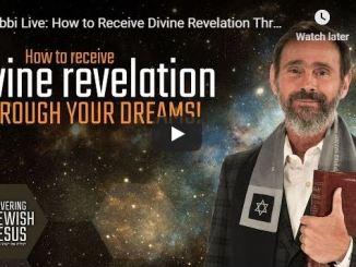 Rabbi Schneider - How to Receive Divine Revelation Through Your Dream