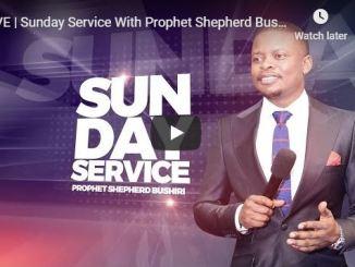 Prophet Shepherd Bushiri Live Sunday service ECG 29 March