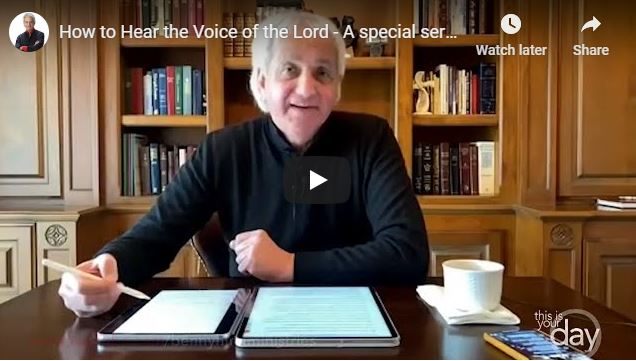 Benny Hinn Sermon - How to Hear the Voice of the Lord