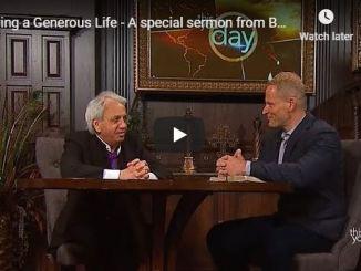 Benny Hinn sermon - Living a Generous Life
