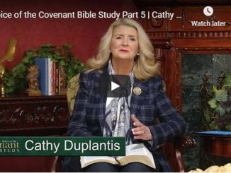 Cathy Duplantis Message - Voice of the Covenant Bible Study