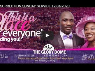 Dunamis Church Easter Sunday Service April 12 2020