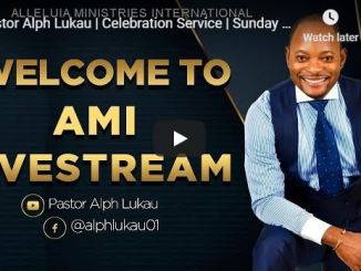 Easter Sunday Service With Pastor Alph Lukau