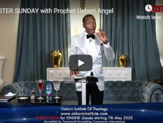 Easter Sunday Service With Uebert Angel April 12 2020