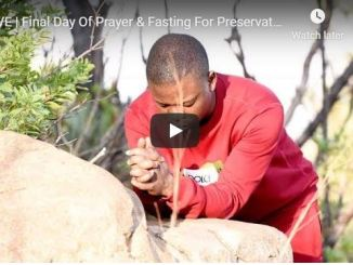 Final Day Of Prayer & Fasting For Preservation With Shepherd Bushiri