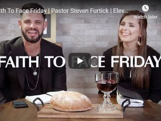 Good Friday service with Pastor Steven Furtick