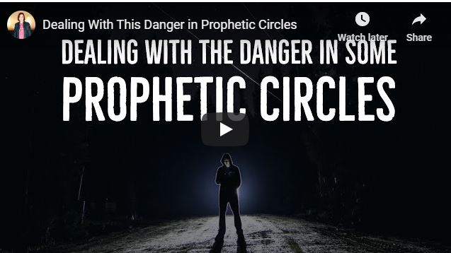 Jennifer LeClaire Message - Dealing With This Danger in Prophetic Circles