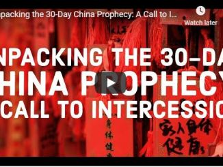 Jennifer Leclaire Ministries - Unpacking the 30-Day China Prophecy
