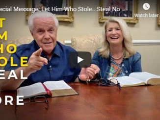Jesse Duplantis and Cathy Duplantis message