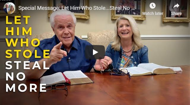 Jesse Duplantis and Cathy Duplantis message