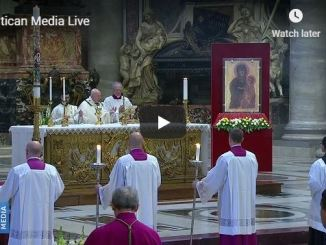 Live Easter Sunday Mass from Vatican with Pope Francis