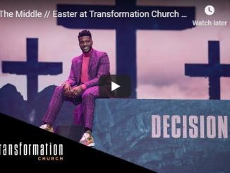 Pastor Michael Todd Easter Sermon - In The Middle
