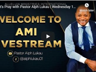 Pray With Pastor Alph Lukau