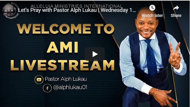 Pray With Pastor Alph Lukau