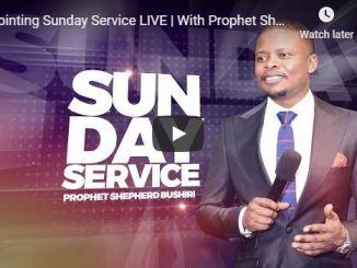 Prophet Shepherd Bushiri Sunday Live Service With ECG