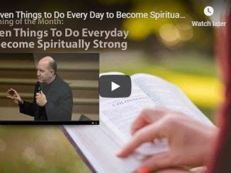 Rick Renner - Seven Things to Do Every Day to Become Spiritually Strong