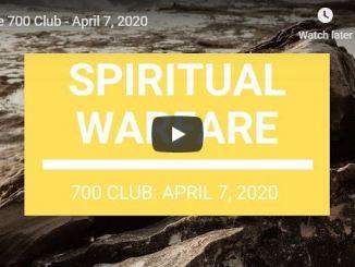 The 700 Club - Spiritual Warfare with Pat Robertson