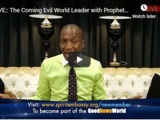 Uebert Angel Message - The Coming Evil World Leader