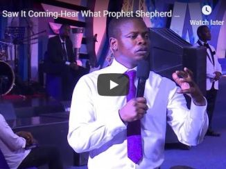 What Prophet Shepherd Bushiri Prophesied in 2018