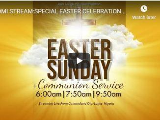 Winners Chapel Easter Sunday Live Service