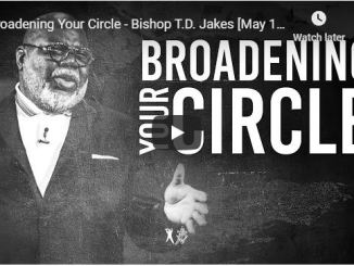 Bishop TD Jakes Sermon May 13 2020