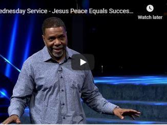 Creflo Dollar Sermon - Jesus Peace Equals Successful Peace - May 2020
