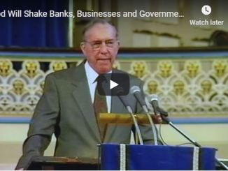 Derek Prince - God Will Shake Banks Businesses and Governments