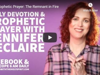 Jennifer Leclaire Message - The Remnant in Fire