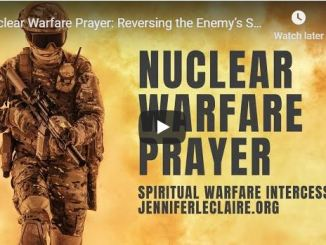 Jennifer Leclaire - Nuclear Warfare Prayer - May 13 2020