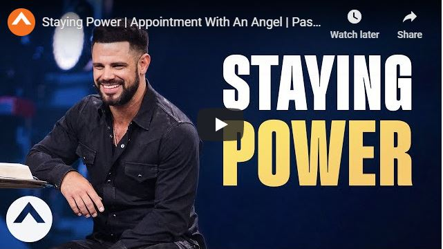 Pastor Steven Furtick Sunday Sermon - Staying Power - May 24 2020