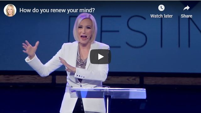 Paula White Message - How do you renew your mind - May 2020