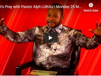 Pray With Pastor Alph Lukau May 25 2020