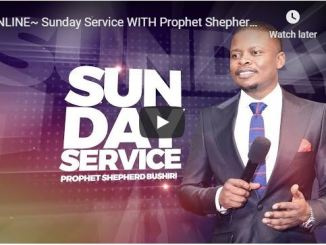 Prophet Shepherd Bushiri Pentecost Sunday Service May 31 2020