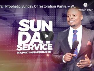 Prophet Shepherd Bushiri Sunday Live Service May 24 2020