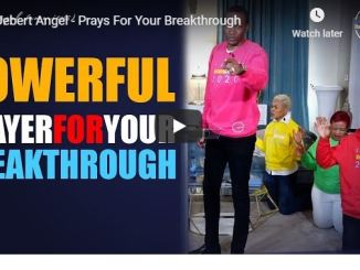 Prophet Uebert Angel Prays For Your Breakthrough