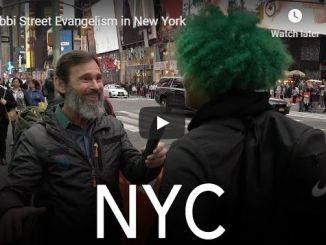 Rabbi Schneider Sermon - Street Evangelism in New York