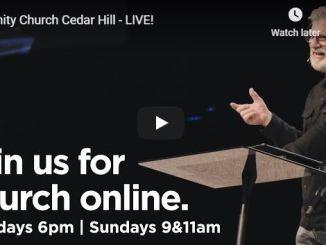 Trinity Church Cedar Hill Sunday Live Service