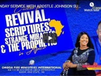 Apostle Johnson Suleman Sunday Live Service June 28 2020