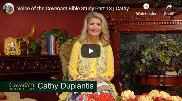 Cathy Duplantis Message - Voice of the Covenant Bible Study - June 2020